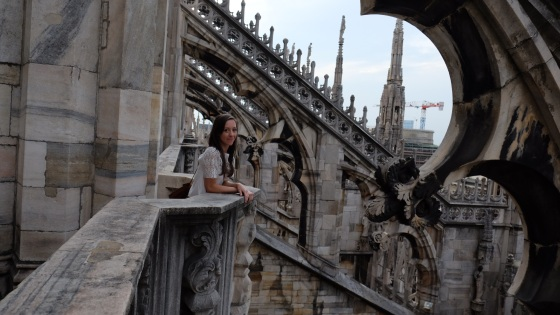 Me at the Duomo de Milano