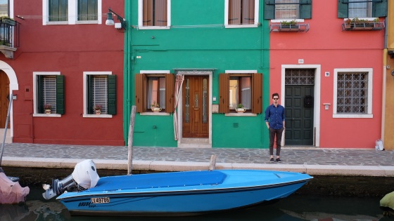 Troy in Burano, Italy
